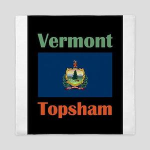 Topsham Vermont Queen Duvet