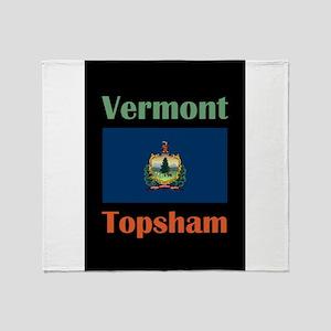 Topsham Vermont Throw Blanket