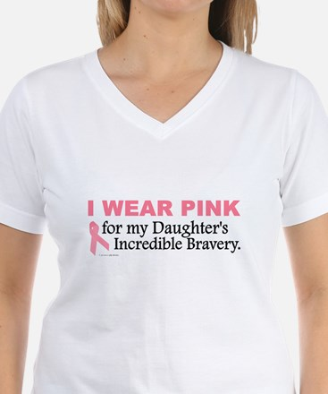 Pink For My Daughter's Bravery 1 Shirt