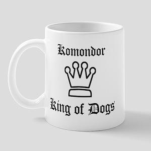 Komondor - King of Dogs Mug