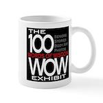 The 100 Words Of Wisdom Exhibit Mugs