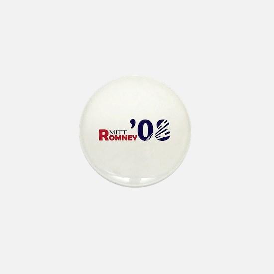 Mitt Romney 08 Mini Button