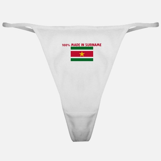 100 PERCENT MADE IN SURINAME Classic Thong