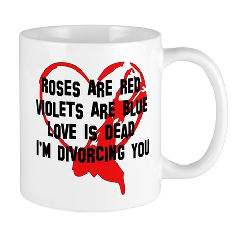 Divorce Announcement Mug