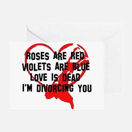 Divorce Announcement Greeting Card