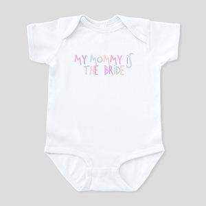 Mommy Bride Infant Bodysuit
