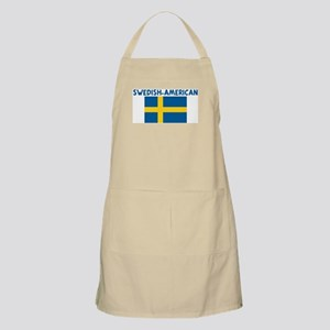 SWEDISH-AMERICAN BBQ Apron