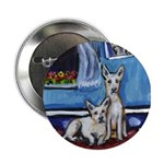 CANAAN DOG art Button