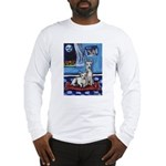 CANAAN DOG art Long Sleeve T-Shirt