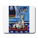 CANAAN DOG art Mousepad
