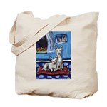 CANAAN DOG art Tote Bag