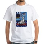 CANAAN DOG art White T-Shirt