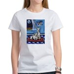CANAAN DOG art Women's T-Shirt