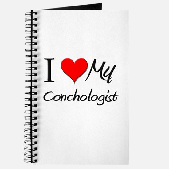 I Heart My Conchologist Journal