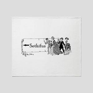 sethifus arrow Throw Blanket