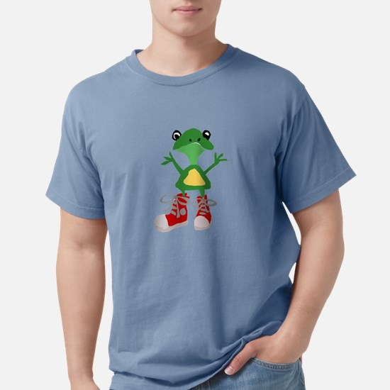 Frog in Red Sneakers T-Shirt