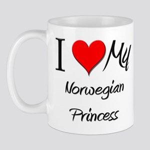 I Love My Norwegian Princess Mug