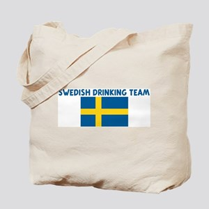 SWEDISH DRINKING TEAM Tote Bag