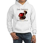 SNAKELAND CD COVER Hooded Sweatshirt
