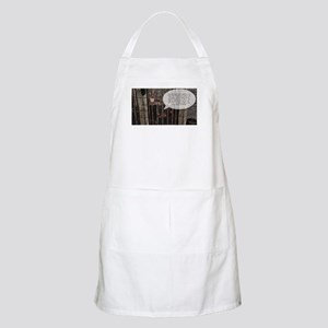 Don't get your panties in a wad. Light Apron