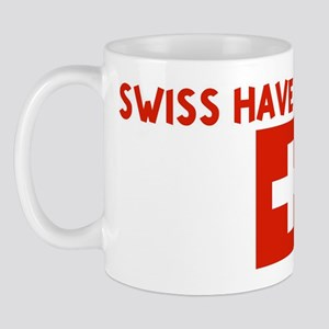 SWISS HAVE MORE FUN Mug