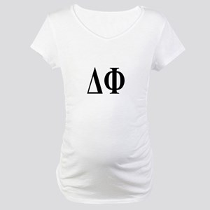 DELTA PHI Maternity T-Shirt