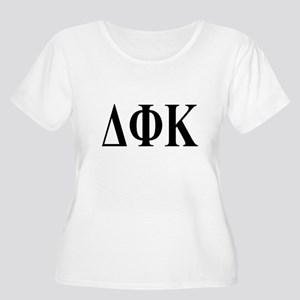 DELTA PHI KAPPA Womens Plus-Size Scoop Neck T