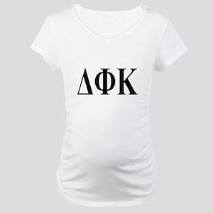 DELTA PHI KAPPA Maternity T-Shirt
