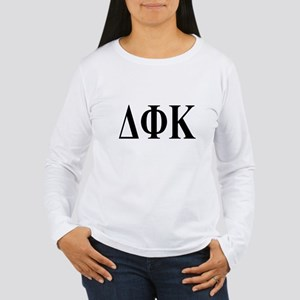 DELTA PHI KAPPA Womens Long Sleeve T-Shirt