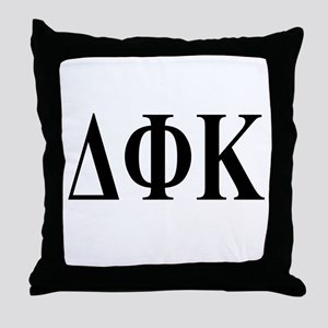 DELTA PHI KAPPA Throw Pillow