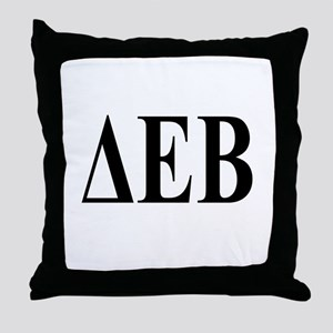DELTA EPSILON BETA Throw Pillow