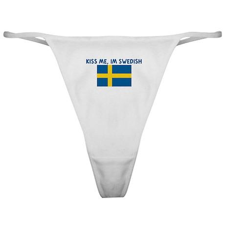 KISS ME IM SWEDISH Classic Thong