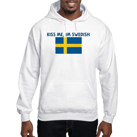 KISS ME IM SWEDISH Hooded Sweatshirt