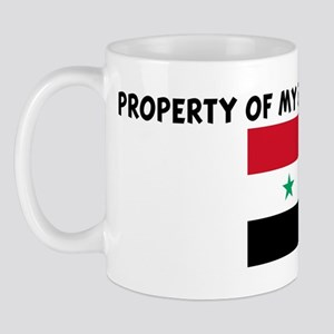 PROPERTY OF MY SYRIAN GIRLFRI Mug