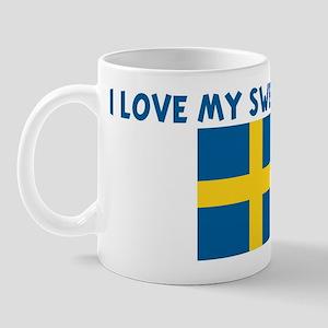 I LOVE MY SWEDISH UNCLE Mug