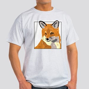 Fox Box Ash Grey T-Shirt