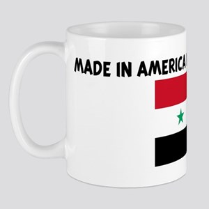 MADE IN AMERICA WITH SYRIAN P Mug