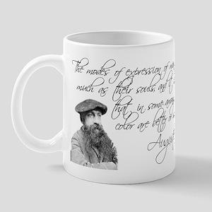 Auguste Rodin Art Quote Mug