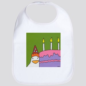 Chicken Birthday Cotton Baby Bib