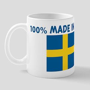 100 PERCENT MADE IN SWEDEN Mug