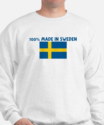 100 PERCENT MADE IN SWEDEN Sweatshirt