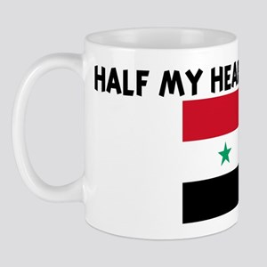 HALF MY HEART IS IN SYRIA Mug