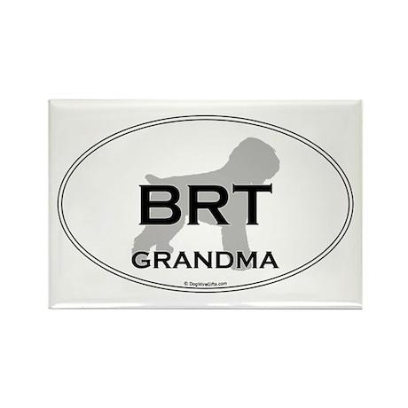 BRT Grandma Rectangle Magnet