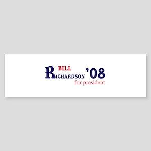 Bill Richardson for presiden Bumper Sticker