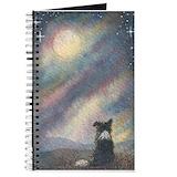 Border collie Journals & Spiral Notebooks