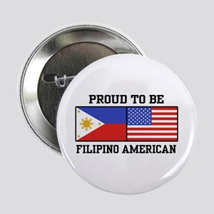 "Proud Filipino American 2.25"" Button"