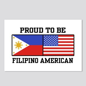 Proud Filipino American Postcards (Package of 8)
