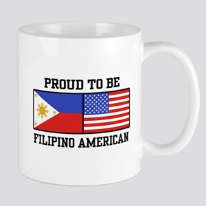 Proud Filipino American Mug