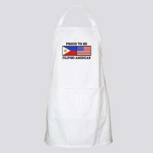 Proud Filipino American BBQ Apron