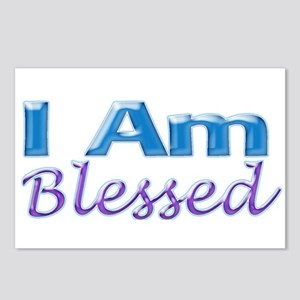 I Am Blessed Postcards (Package of 8)